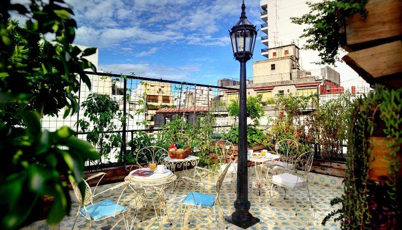 Building's Organic Vegetable Garden