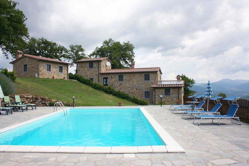 Vezza Villa Sleeps 8 with Pool - 5490484, holiday rental in Talla