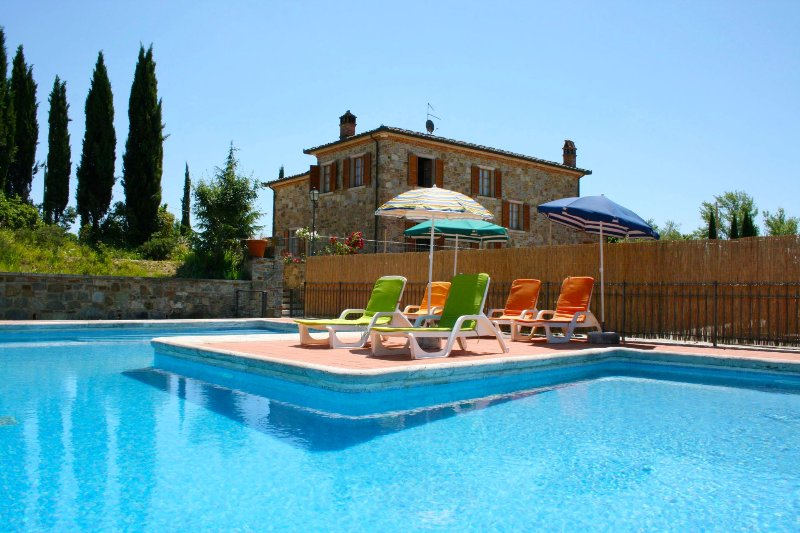 VILLA FOSCA, vacation rental in Rigomagno