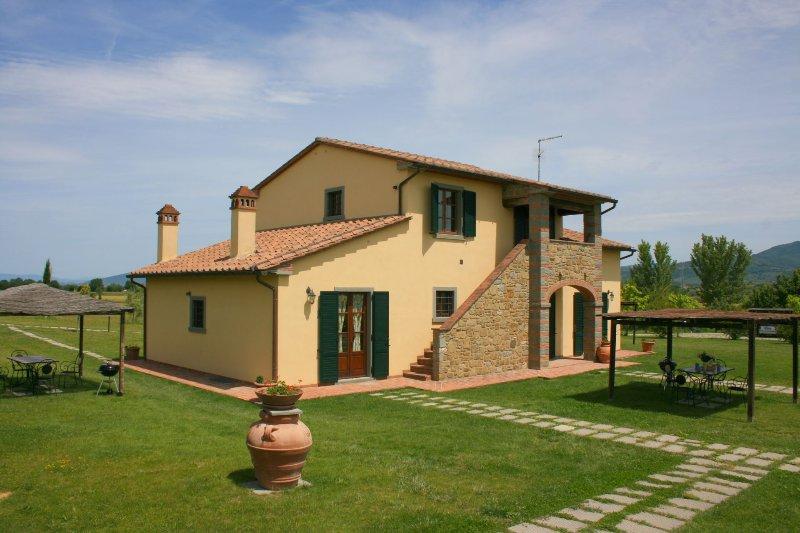 PODERE MARCIGLIANO - CORITO, holiday rental in Fratticciola