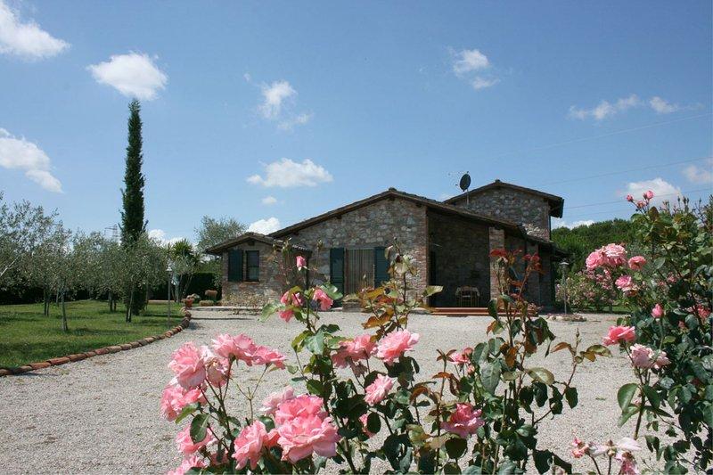I Bertoni Villa Sleeps 8 with Pool - 5490488, vacation rental in Borghetto