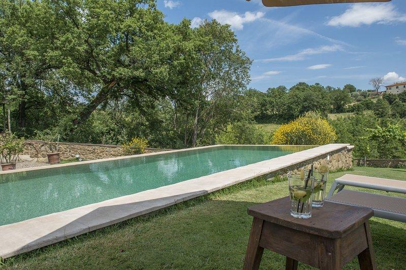 Pozzo Villa Sleeps 4 with Pool and Air Con - 5490500, aluguéis de temporada em Foiano Della Chiana