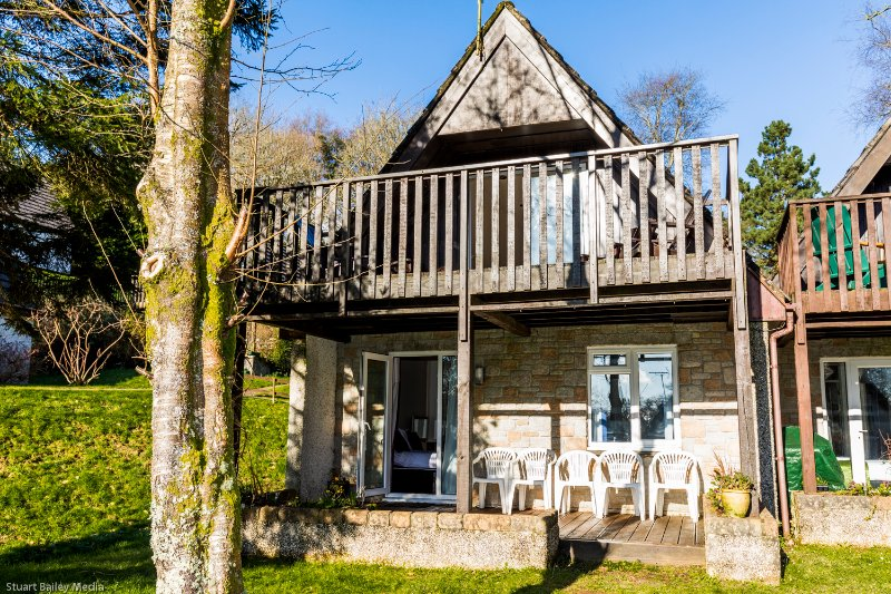 Comfy 3 bedroom countryside lodge, holiday rental in St Dominick