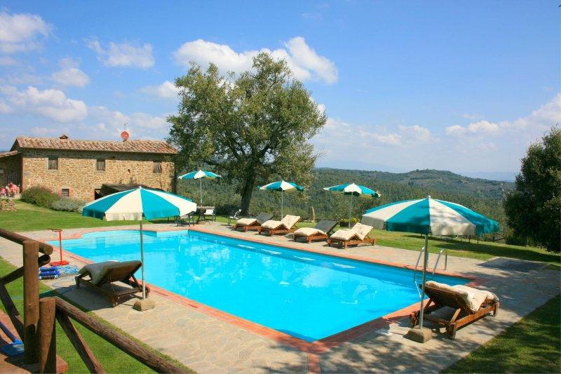 PODERE DELLA CROCCHIA, holiday rental in Civitella in Val di Chiana