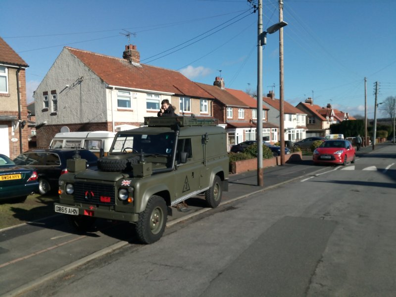 Wildcamping Ex-Military Landrover, holiday rental in Birtley