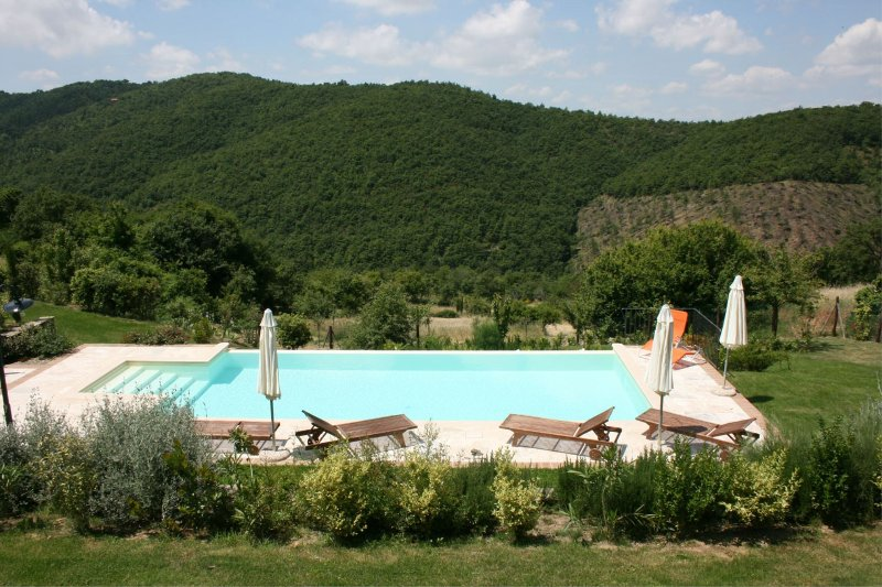 Polvano Villa Sleeps 6 with Pool - 5490566, vacation rental in Pieve di Chio