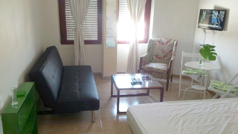Beautiful studio with balcony, holiday rental in Fuente del Rey