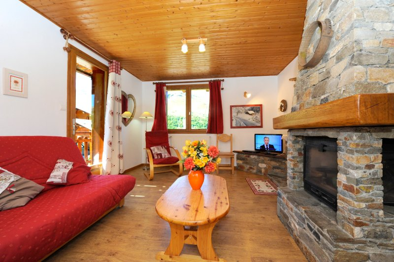 Apartment - 600 m from the slopes, holiday rental in Le Bettaix