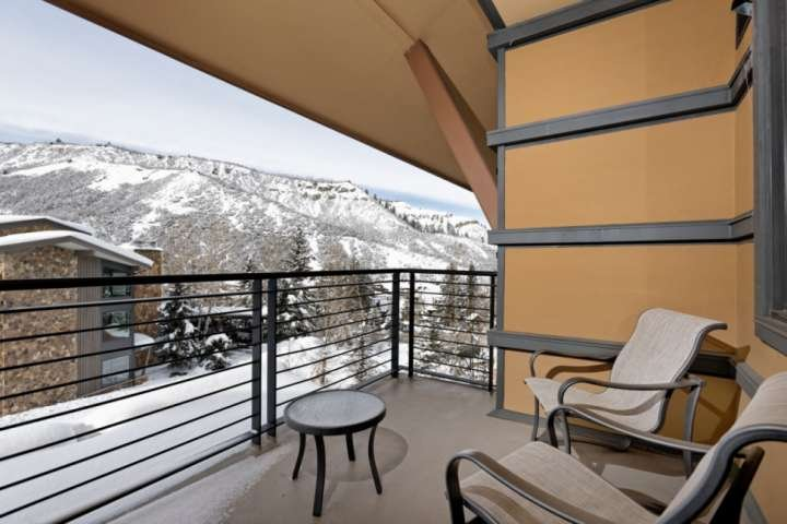 Enjoy the peaceful views from your private balcony