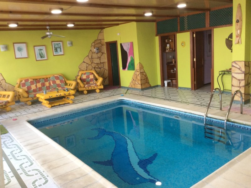 Apartment with swimming-pool, holiday rental in Banaderos