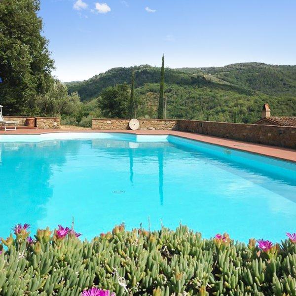 Beautiful house with swimming-pool, alquiler de vacaciones en Pergine Valdarno