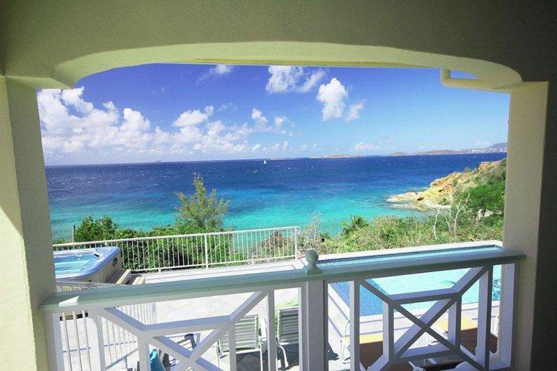 Votre vue depuis le porche couvert à l'île Time - un endroit parfait pour être tous les jours
