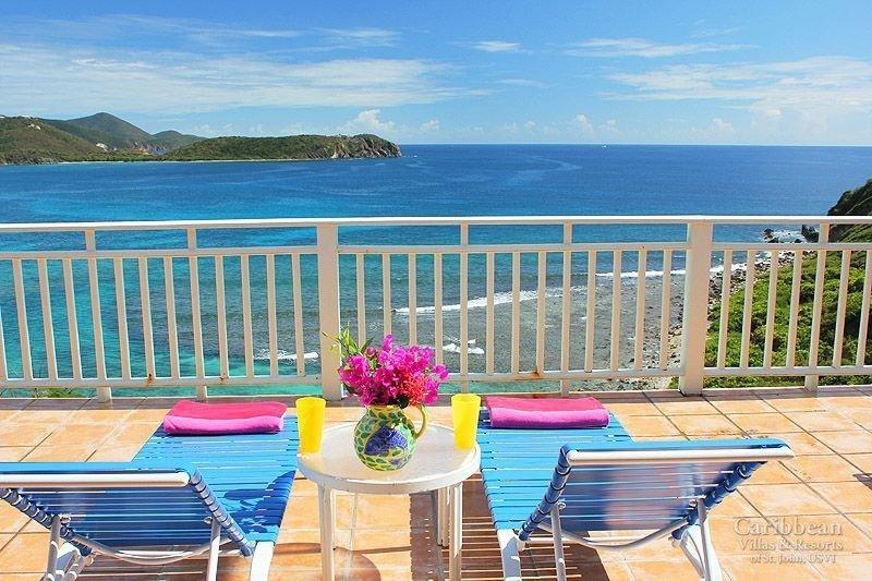 Rara Avis - Venga a relajarse en sus sillones y escuchar a las olas de la Bahía de Hart!