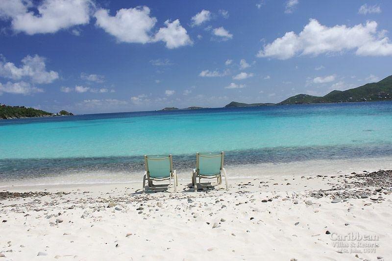 Ihr Vorgarten - das türkisfarbene Wasser der Karibik sind 50ft. von deinem Deck