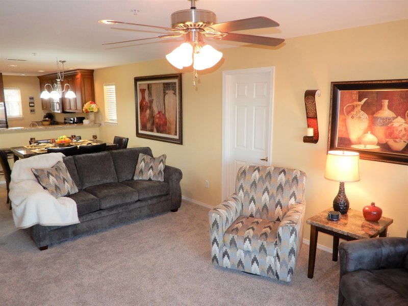 NEW Living Room furniture and carpeting in 2018!
