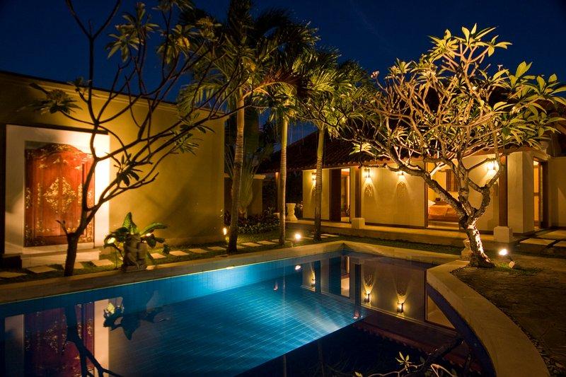 2 quartos standard com vista para a piscina
