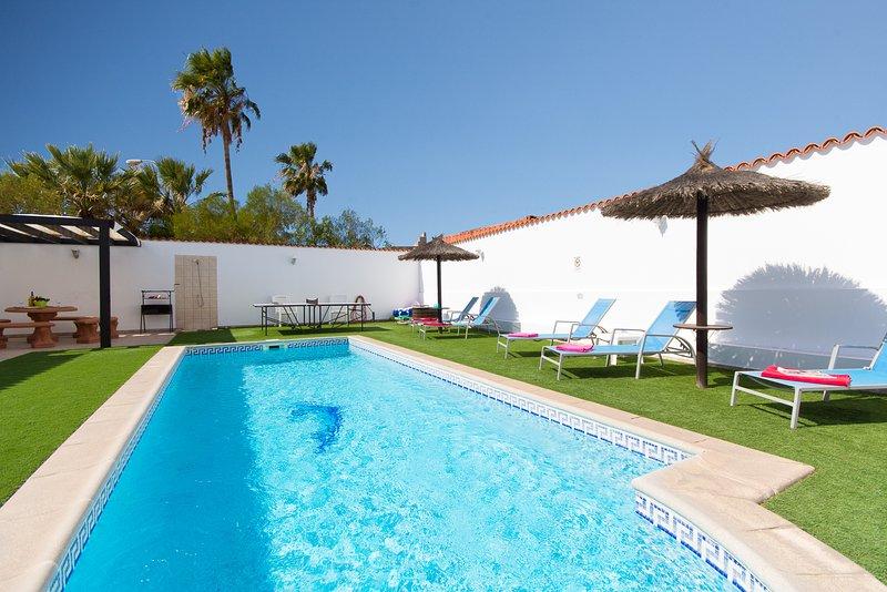 piscina privata riscaldata.