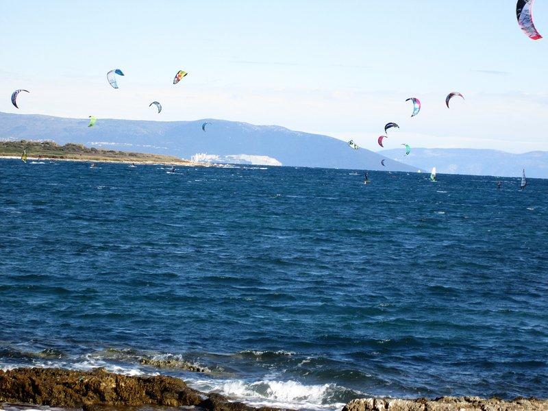 Windsurfing and kitesurfing weekend in Ližnjan