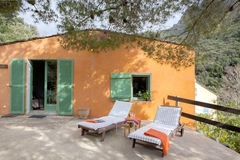 Beautiful house near the beach, holiday rental in Ogliastro