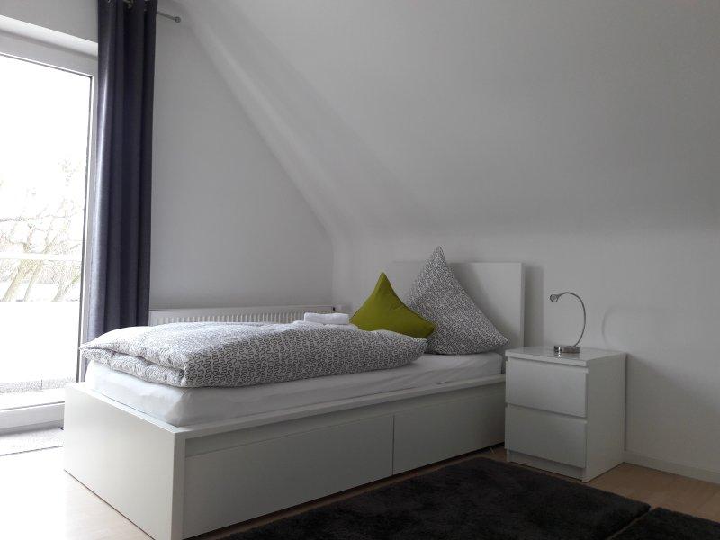 Chambre double 1 avec deux lits séparés (90x200) Balcon
