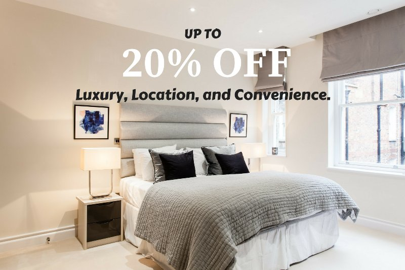 Up to 20% for our LAST MINUTE DEAL!