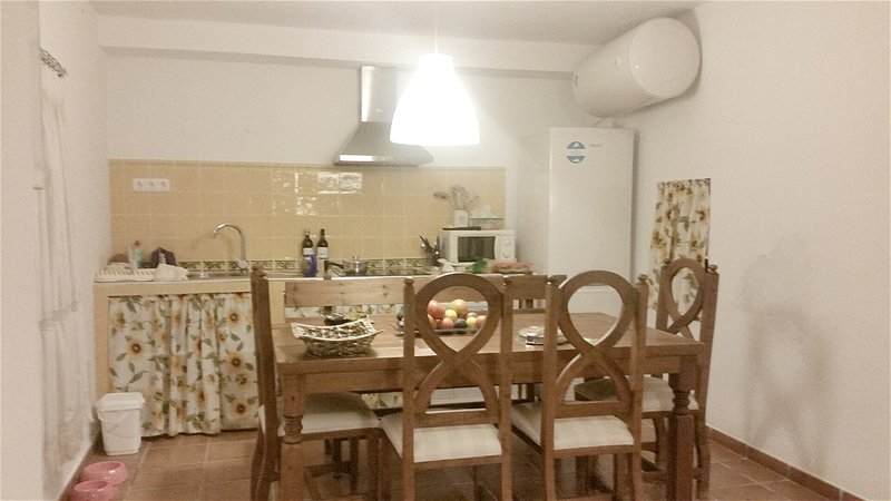 Spacious house with terrace & Wifi, holiday rental in Benamocarra