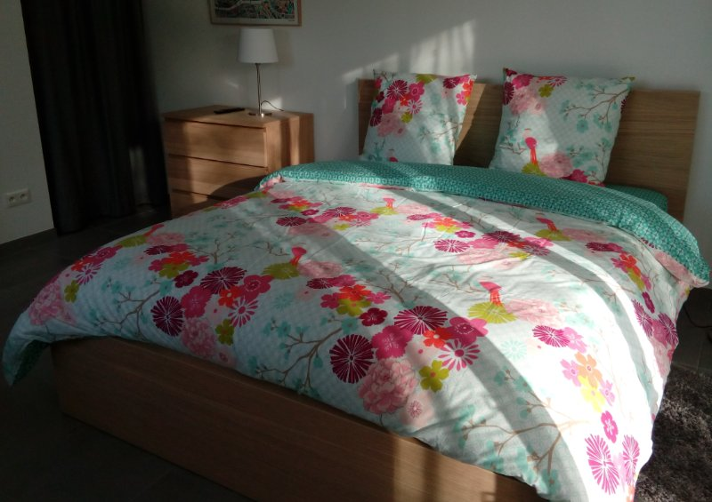 Double Bed Premium bedding
