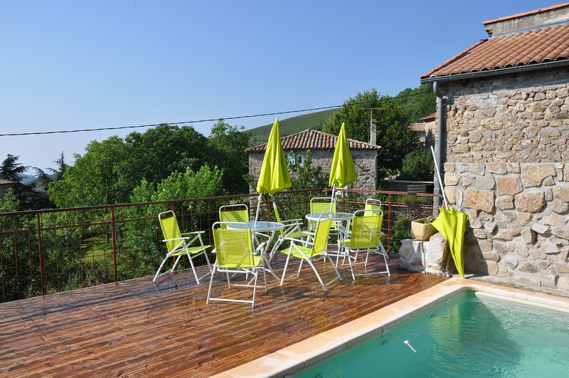 Big house with swimming-pool, vacation rental in Saint Michel de Boulogne