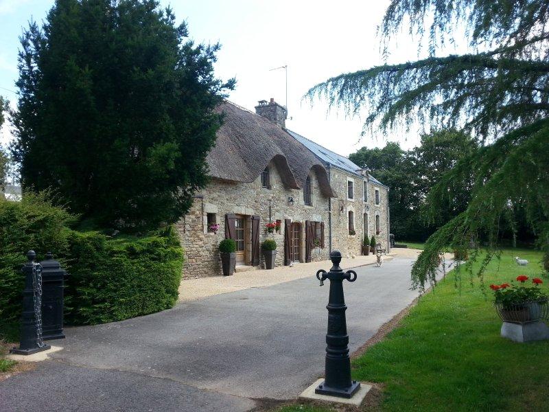 Cottage dans un environnement exceptionnel, holiday rental in Plumelin