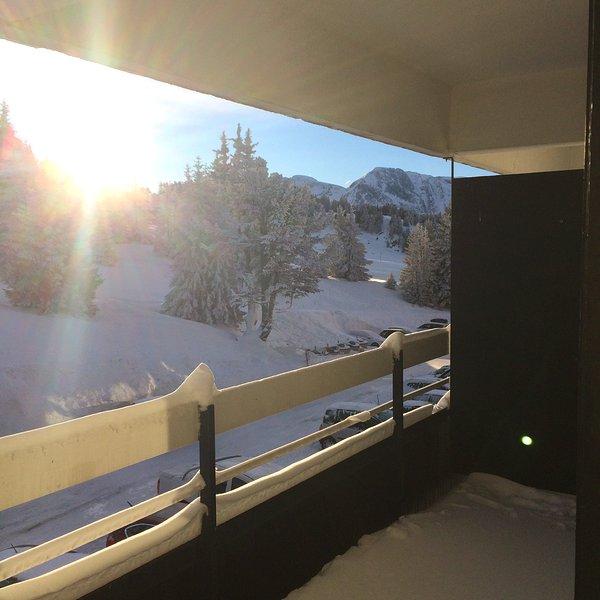 Apartment with mountain view, alquiler de vacaciones en Chamrousse