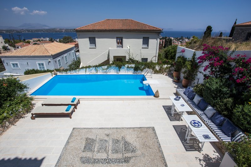 Amazing villa with swimming-pool, vacation rental in Saronic Gulf Islands