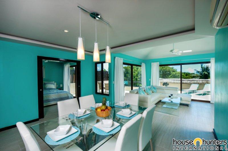 Luxury condo in Puerto Aventuras Palmas, vacation rental in Xpu-Ha