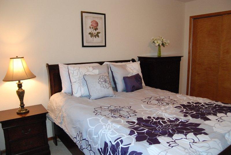 El tercer dormitorio tiene un montón de espacio