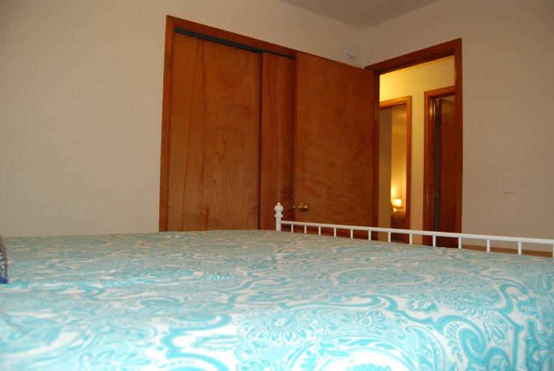 Ver hacia el pasillo de la segunda habitación