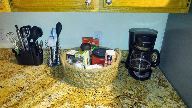 cucharas de cocina y espátulas, accesorios de café y cafetera