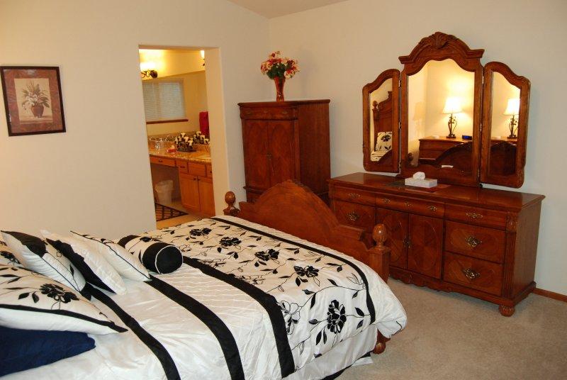 Gran dormitorio principal