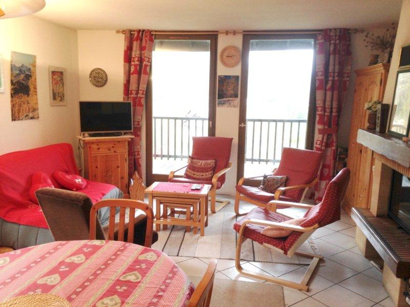 Nice apartment with mountain view, location de vacances à Le Monetier-les-Bains