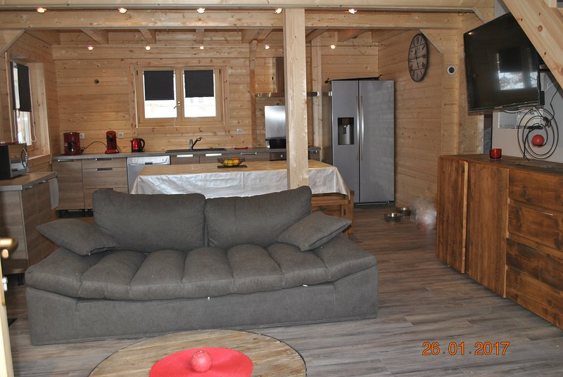 Chalet - 400 m from the slopes, holiday rental in Vénosc