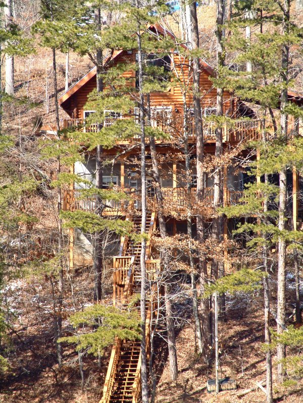 This wooded LaFollette property is the perfect base for you Volunteer State getaway!