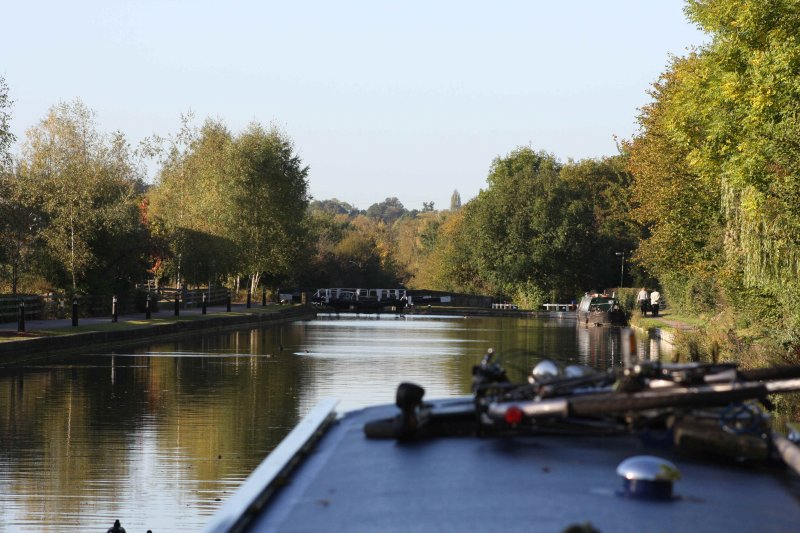 Stunning walks down, or up, the famous London Grand Union Canal