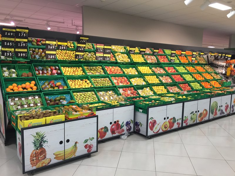 The Mercadona supermarket for lovers of fresh produce