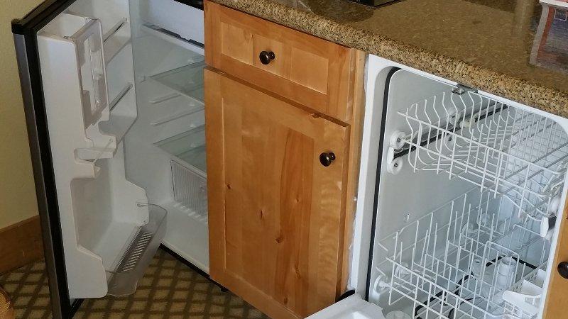dishwasher and frg