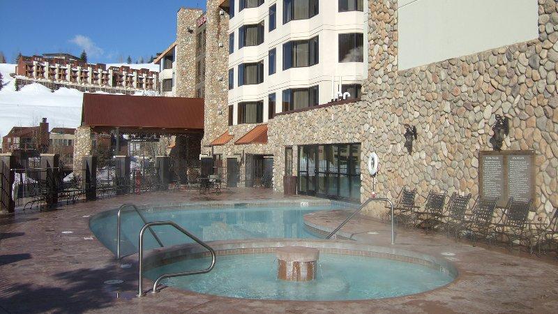 indoor outdoor pool - heated