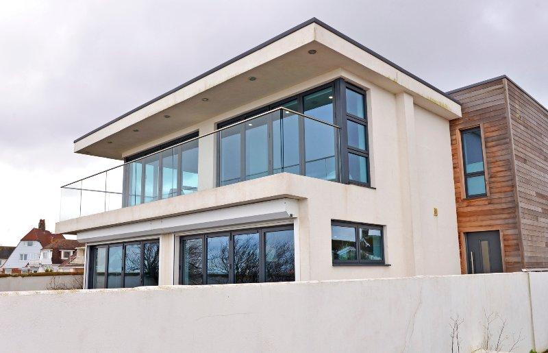 Arquitecto casa de playa diseñada