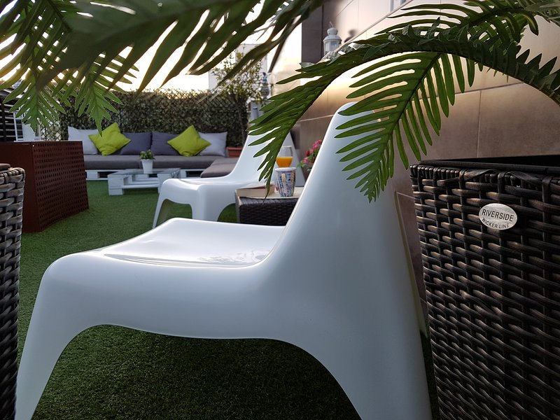 Zona chill out, terraza común