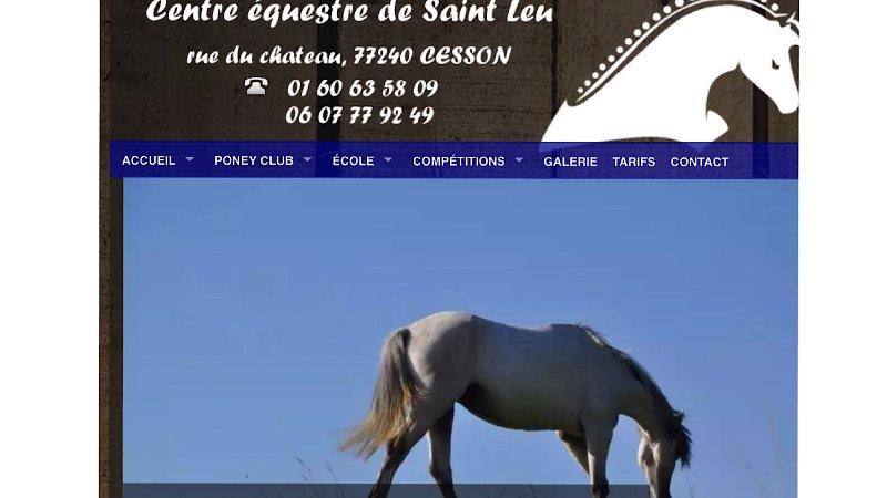 Equestrian Center of Saint-Leu eta 3 km from the rental.
