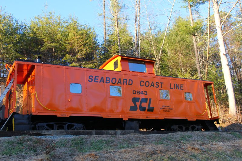 Seaboard Coast Line Caboose #0843, holiday rental in Clyde