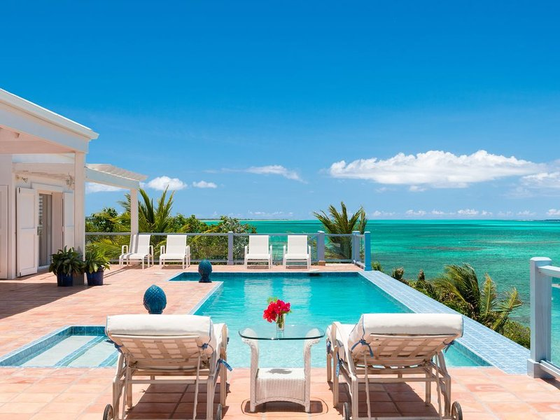 Reef Tides -  an oceanfront luxury family beach house with snorkelling reef, holiday rental in Providenciales