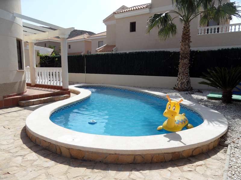 Villa Nicholas, 3 bedroom detached villa with private pool, WIFI, Airco, holiday rental in San Juan de los Terreros