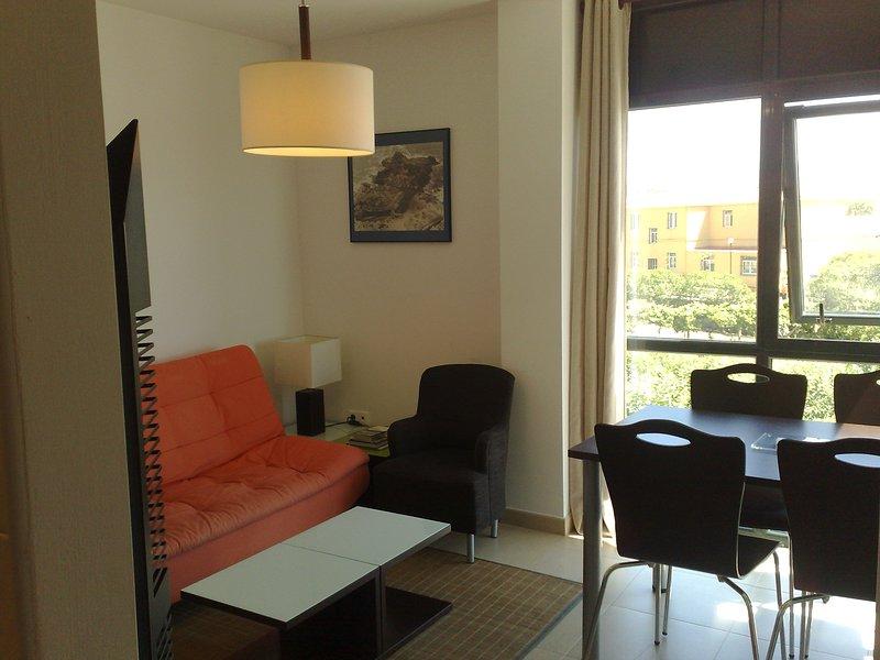 Apartamento de 1 dormitorio en Corrubedo (Corrubed, vacation rental in Corrubedo